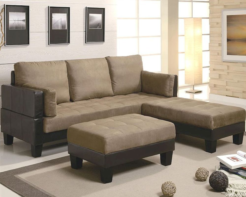 Fulton Contemporary Sofa Bed Group with 2 Ottomans CO