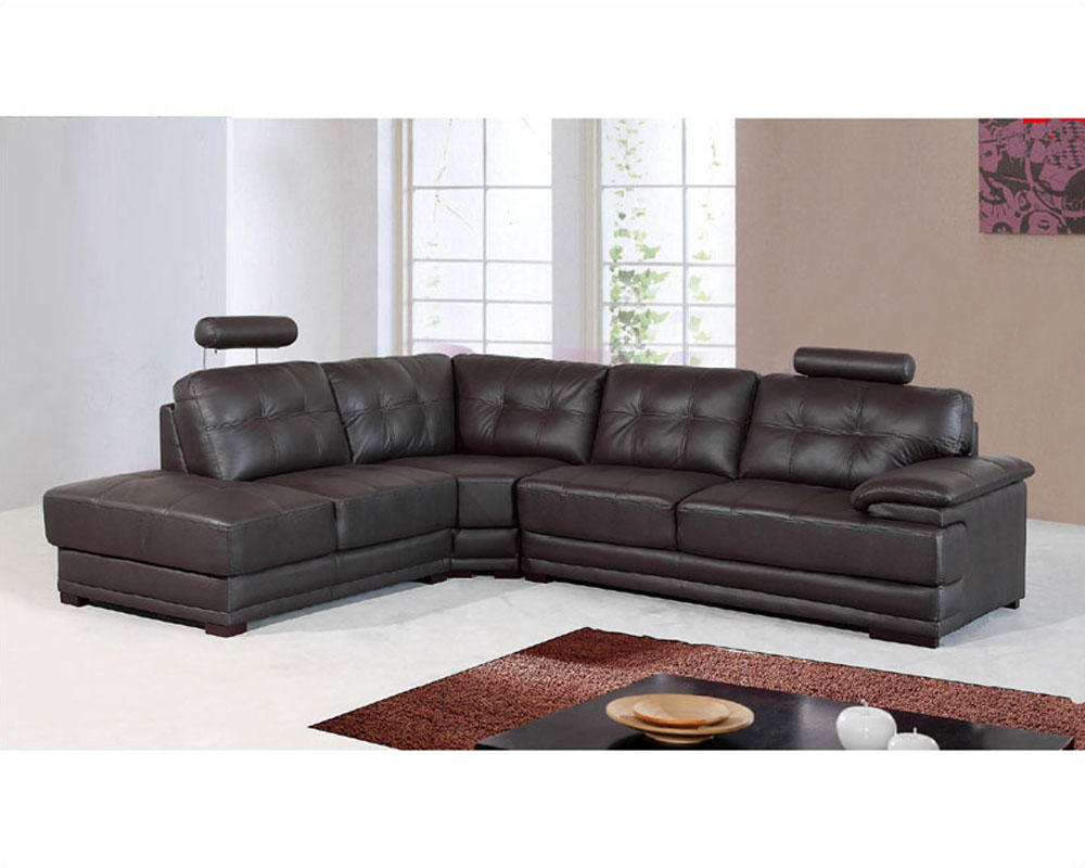 Genuine Leather Sectional Set 33ls101