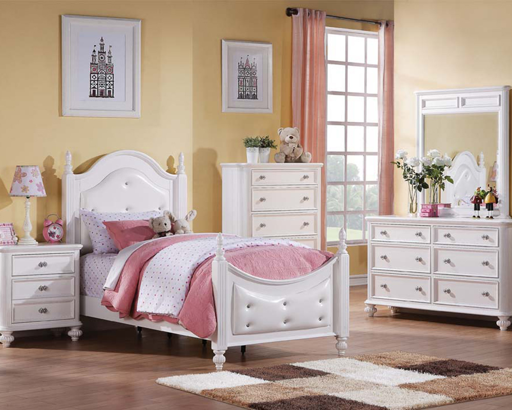 Girl s Bed Athena by Acme Furniture AC30200SET. Kids Bedroom Sets   Youth Bedrooms