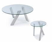 Glass Coffee Table Set Prism by Magnussen MG-T3365SET