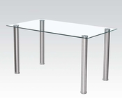 Glass Dining Table Hayden by Acme Furniture AC71390