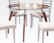 Glass Dining Table Martini by Acme Furniture AC08185