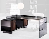 Glass Office Desk in Contemporary Style 44F2668