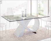 Glass Top Dining Table 989