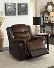 Glider Reclining Chair Bunnell by Homelegance EL-9666-1