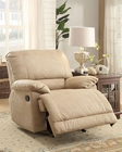 Glider Reclining Chair Elsie by Homelegance EL-9713NF-1