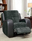 Glider Reclining Chair Flatbush by Homelegance EL-9626-1