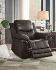 Glider Reclining Chair St Louis Park by Homelegance EL-8515BRW-1