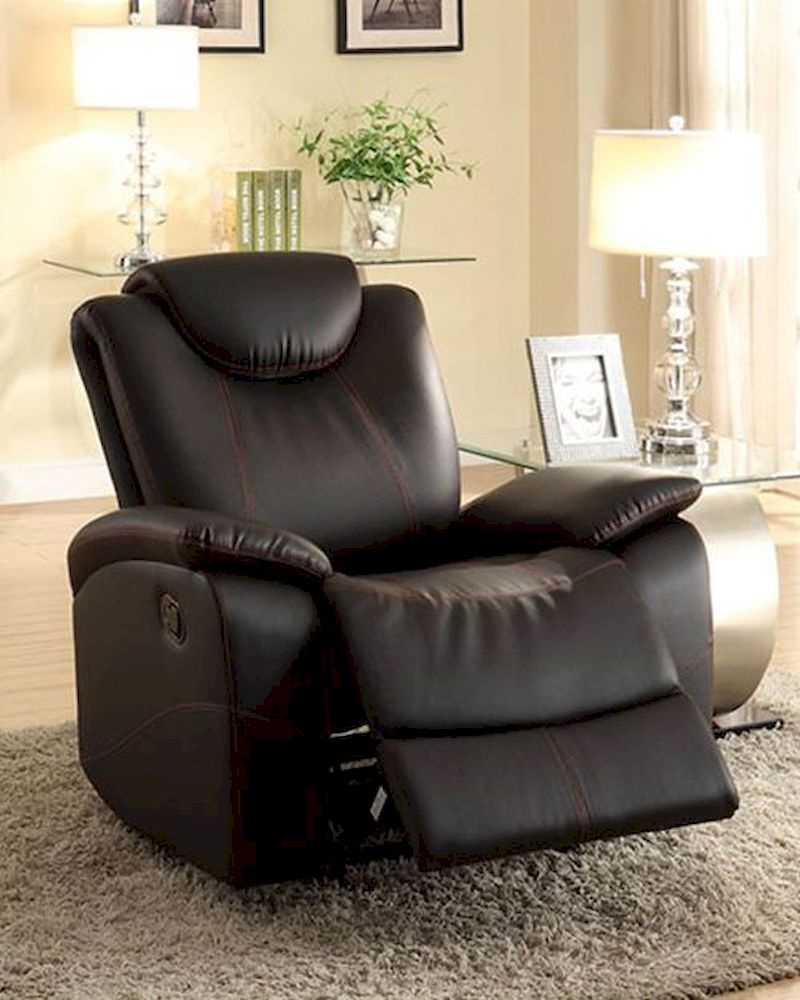 Glider Reclining Chair Talbot by Homelegance EL 8524BK 1