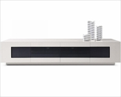 Glossy Grey TV Unit in Contemporary Style 44ENT004
