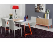Grey Ash Dining Set in Contemporary Style 44D840XT-SET