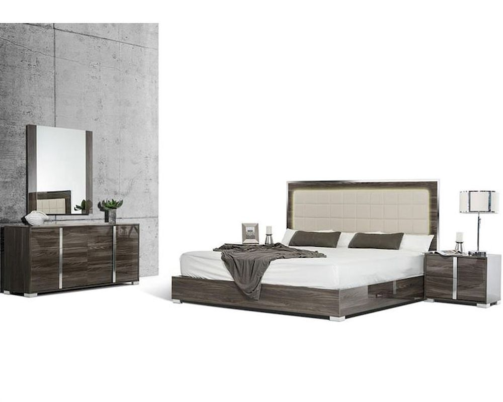 Modern Style Bedroom Sets Made In Italy Bedroom Set In Modern Style 44b118set