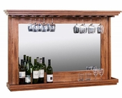 Hanging BackBar w/ Mirror & Light by Sunny Designs SU-1916RO