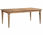 Hekman Acacia Dining Table Wellington Hall HE-23320