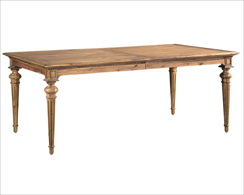Hekman Acacia Dining Table Wellington Hall HE 23320