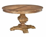 Hekman Acacia Round Dining Table Wellington Hall HE-23321