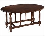 Hekman Bobbin Leg Drop Leaf Table HE-27337