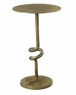 Hekman Bronze Scroll Pedestal Table HE-27437