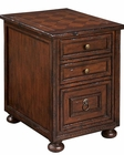 Hekman Chairside Chest Havana HE-81267