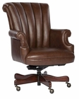 Hekman Coffee Leather Executive Chair HE-79251C