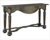 Hekman Distressed Blue Console HE-27441