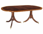 Hekman Double Pedestal Dining Table Copley Place HE-22520