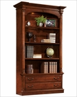 Hekman Executive Bookcase in Weathered Cherry HE-79274