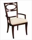 Hekman Oval Back Arm Chair Central Park HE-23124 (Set of 2)