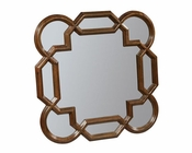 Hekman Square Lattice Mirror Vintage European HE-23273