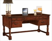 Hekman Table Desk Weathered Cherry HE-79278