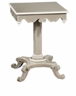 Hekman Taupe Finish Chairside Table HE-27307
