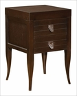 Hekman Two-Drawer Side Table HE-81908C