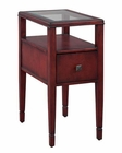 Hekman Weathered Red Chairside Table HE-27461