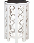Hekman White Accent Table HE-27257