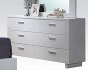 High Gloss White Dresser by Acme Furniture AC22635
