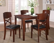 Homelegance 5-Piece Pack Dinette Set Jonas EL-2558-SET