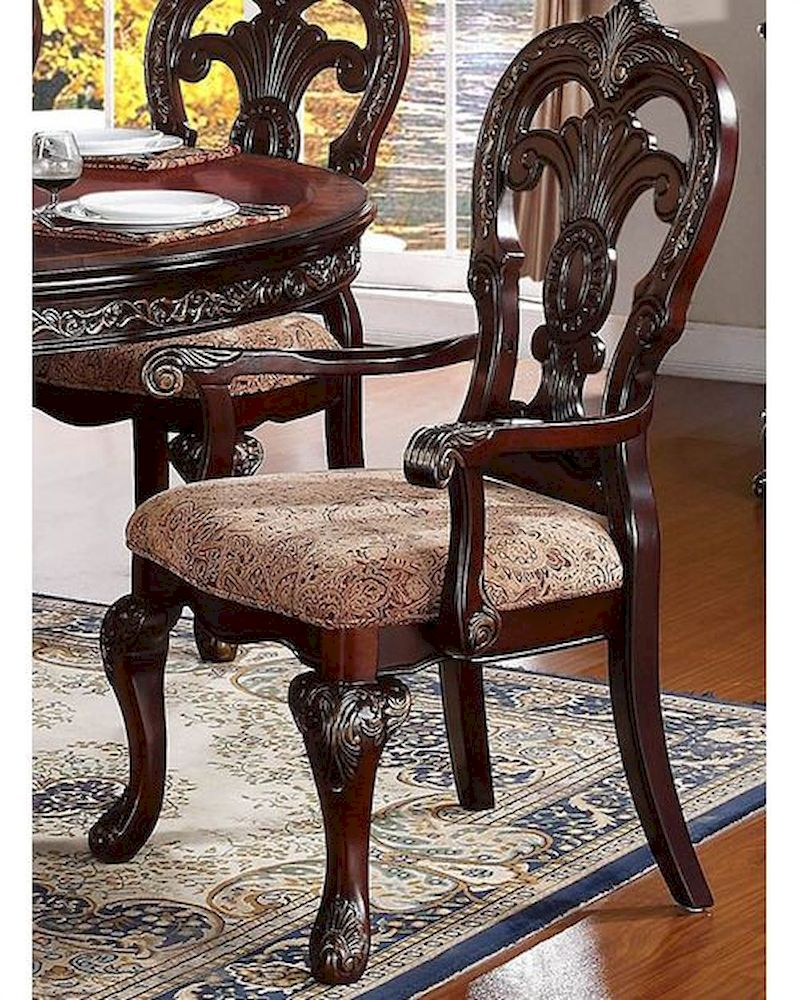 Homelegance Deryn Park Traditional Dining Table And Chair: Homelegance Arm Chair Deryn Park EL-2243A (Set Of 2