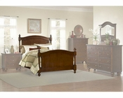 Homelegance Bed in Brown Cherry Aris EL1422K-1CK