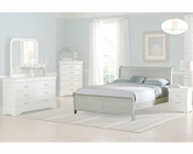 Homelegance Bed in White Marianne EL539KW-1CK