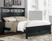 Homelegance Bed Sanibel in Black EL2119BKBED