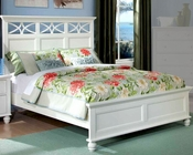 Homelegance Bed Sanibel in White EL2119WBED