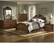 Homelegance Bedroom Set in Brown Cherry Legacy EL866NC-1SET