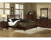 Homelegance Bedroom Set in Cherry Paula EL1348-1SET