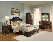 Homelegance Bedroom Set in Deep Merlot Grandover EL858LP-1SET
