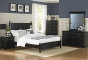 Homelegance Bedroom Set in Ebony EL-1356BK