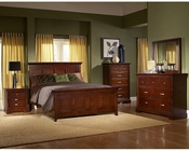 Homelegance Bedroom Set in Espresso Glamour EL1349-1SET