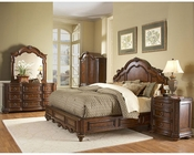 Homelegance Bedroom Set in Warm Brown Prenzo EL1390LP-1SET