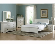 Homelegance Bedroom Set in White Marianne EL539KW-1CKSET