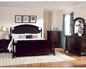 Homelegance Bedroom Set Inglewood in Deep Cherry EL1402SET