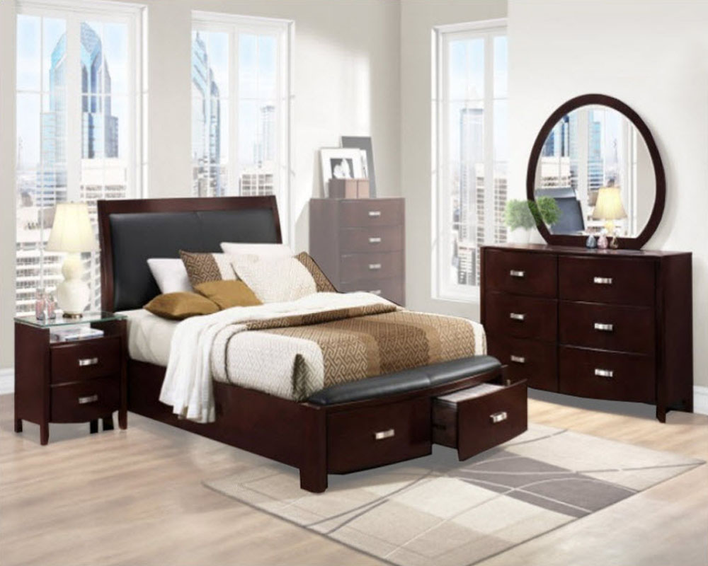 homelegance bedroom set lyric el 1737ncset